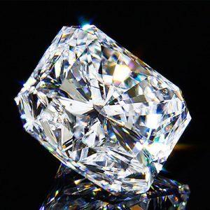 Kim cương nhân tạo Moissanite Radiant 15x11