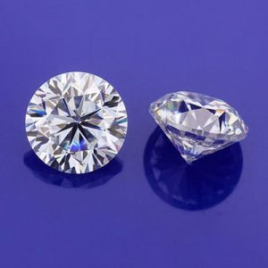 Kim cương nhân tạo Moissanite Round 11ly5
