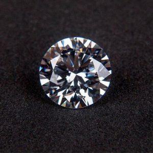 Kim cương nhân tạo Moissanite Round 12ly