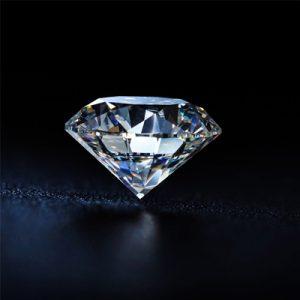 Kim cương nhân tạo Moissanite Round 12ly5
