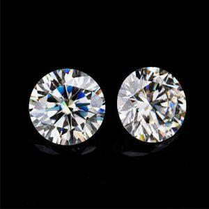 Kim cương nhân tạo Moissanite Round 13ly
