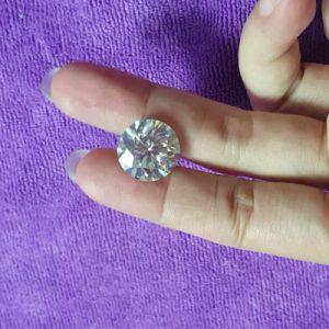 Kim cương nhân tạo Moissanite Round 15ly