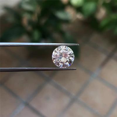 Kim cương nhân tạo Moissanite Round 3ly5