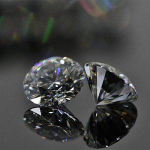 Kim cương nhân tạo Moissanite Round 6ly