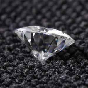 Kim cương nhân tạo Moissanite Round 7ly