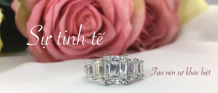 Chế tác trang sức kim cương nữ