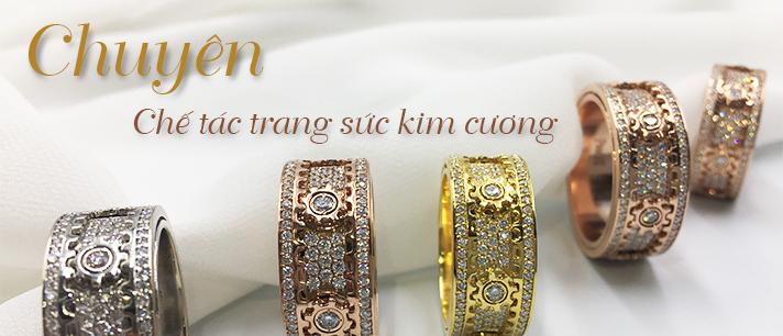Chuyên chế tác trang sức kim cương
