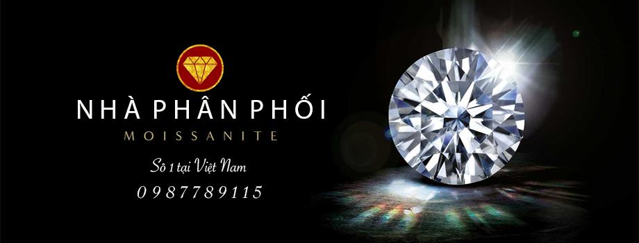 Phân phối kim cương moissanite số 1 VN