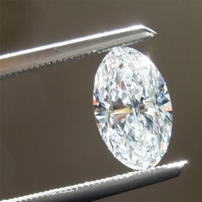 Giác cắt kim cương moissanite hình oval