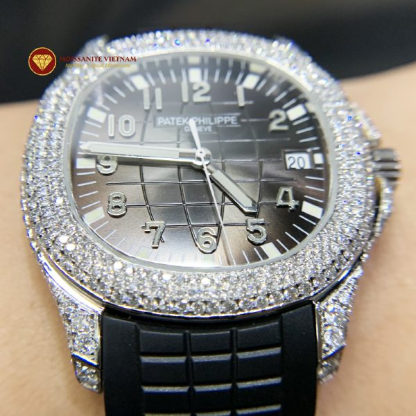 Độ đồng hồ full kim cương Patek Philippe 1