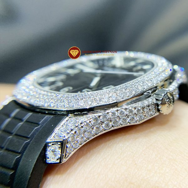 Độ đồng hồ full kim cương Patek Philippe 4