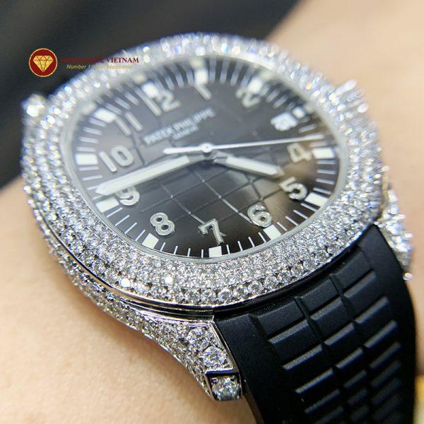 Độ đồng hồ full kim cương Patek Philippe