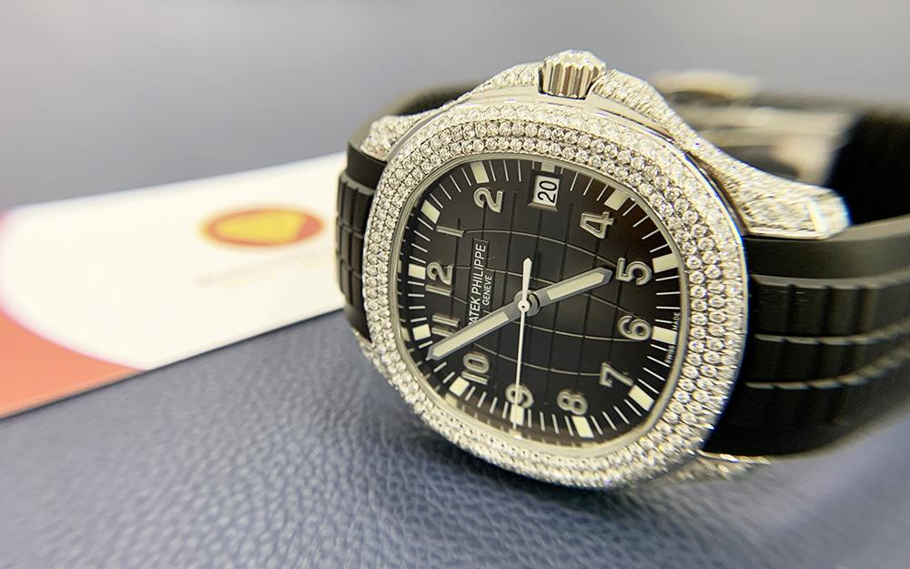 Độ đồng hồ full kim cương Patek Philippe 7