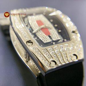 Độ đồng hồ full kim cương Richard Mille bản nữ